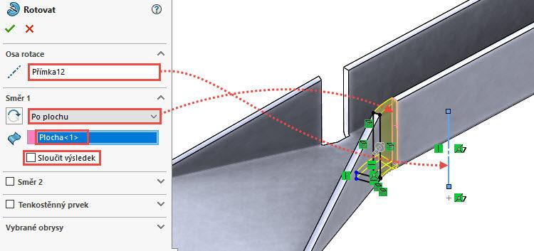 88-SolidWorks-postup-navod-modelani-vetrak-plechove-dily-vyztuha-skrine