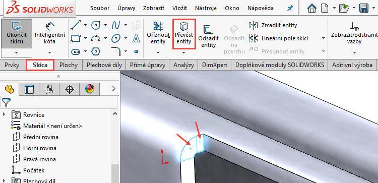 132-SolidWorks-postup-navod-modelani-vetrak-plechove-dily-vyztuha-skrine