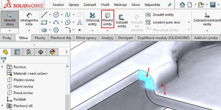 134-SolidWorks-postup-navod-modelani-vetrak-plechove-dily-vyztuha-skrine