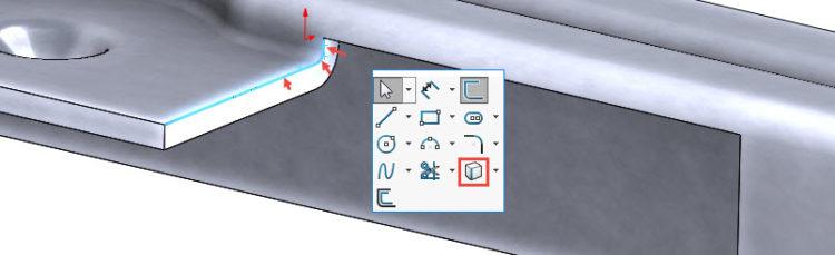 143-SolidWorks-postup-navod-modelani-vetrak-plechove-dily-vyztuha-skrine