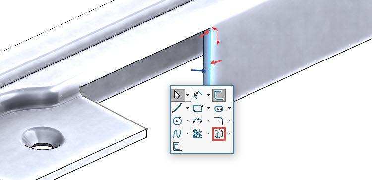 144-SolidWorks-postup-navod-modelani-vetrak-plechove-dily-vyztuha-skrine