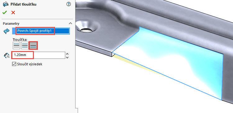 148-SolidWorks-postup-navod-modelani-vetrak-plechove-dily-vyztuha-skrine