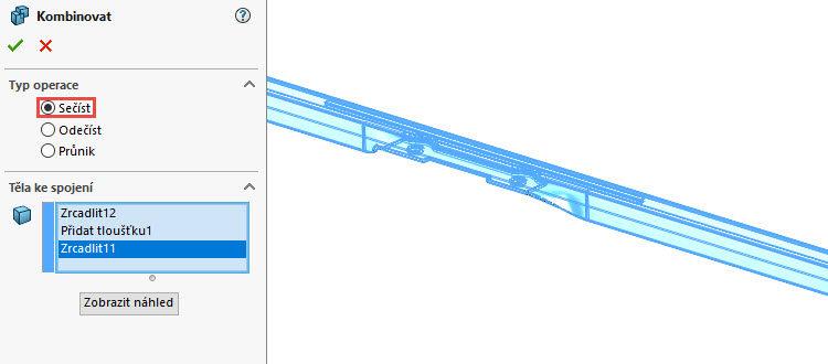 151-SolidWorks-postup-navod-modelani-vetrak-plechove-dily-vyztuha-skrine