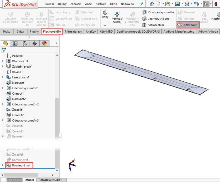 163-SolidWorks-postup-navod-modelani-vetrak-plechove-dily-vyztuha-skrine