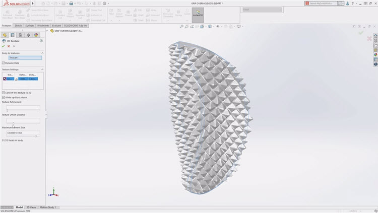 22-Mujsolidworks-3D-textury-SOLIDWORKS-2019-novinky