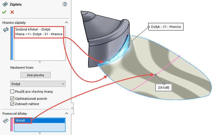 101-SolidWorks-postup-navod-modelani-vetrak-plechove-dily-lopatkove-kolo