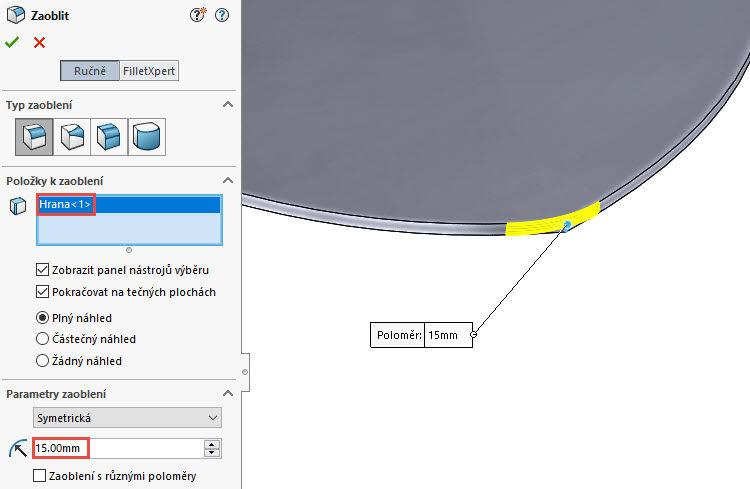 121-SolidWorks-postup-navod-modelani-vetrak-plechove-dily-lopatkove-kolo