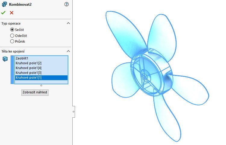 125-SolidWorks-postup-navod-modelani-vetrak-plechove-dily-lopatkove-kolo