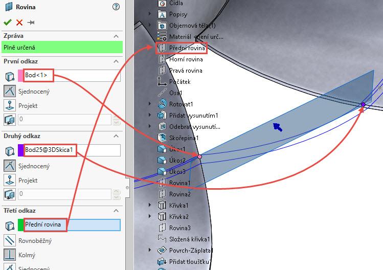 177-SolidWorks-postup-navod-modelani-vetrak-plechove-dily-lopatkove-kolo