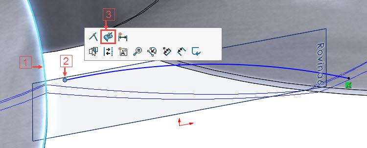 181-SolidWorks-postup-navod-modelani-vetrak-plechove-dily-lopatkove-kolo