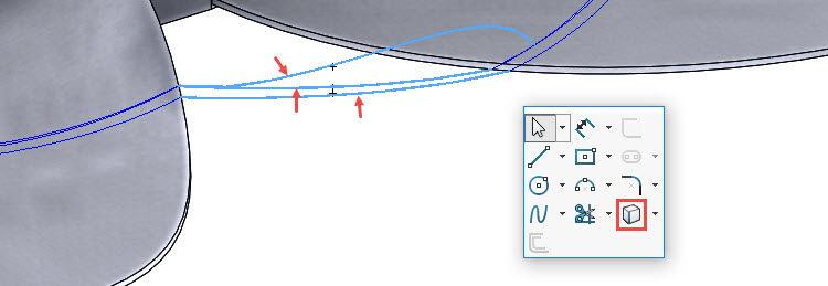 188-SolidWorks-postup-navod-modelani-vetrak-plechove-dily-lopatkove-kolo