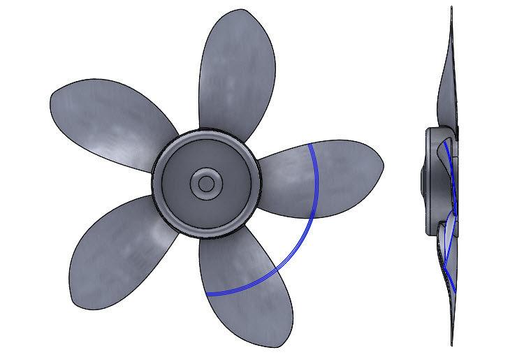195-SolidWorks-postup-navod-modelani-vetrak-plechove-dily-lopatkove-kolo