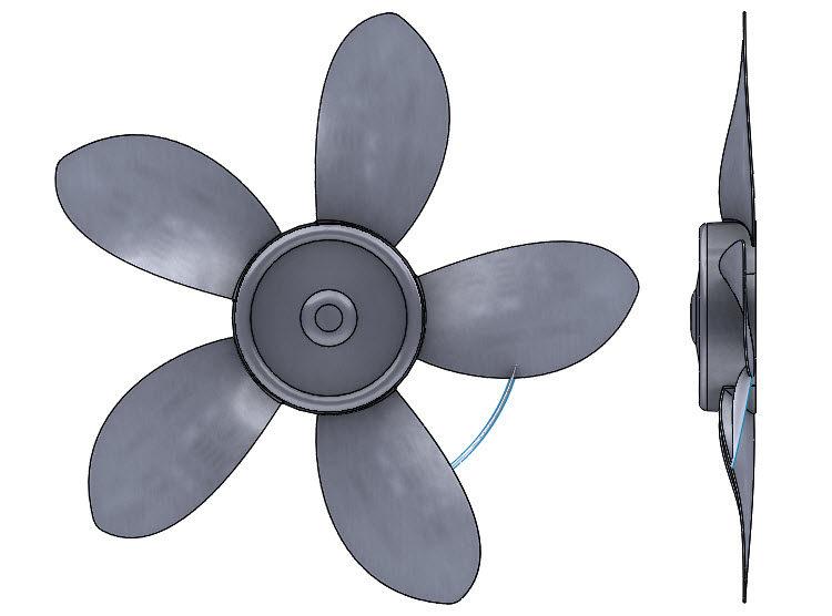 197-SolidWorks-postup-navod-modelani-vetrak-plechove-dily-lopatkove-kolo