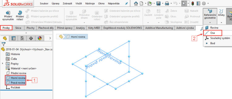 2-SolidWorks-postup-navod-modelani-vetrak-plechove-dily-lopatkove-kolo