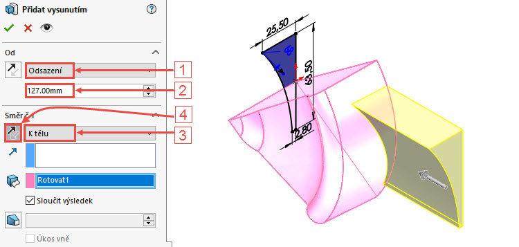 23-SolidWorks-postup-navod-modelani-vetrak-plechove-dily-lopatkove-kolo