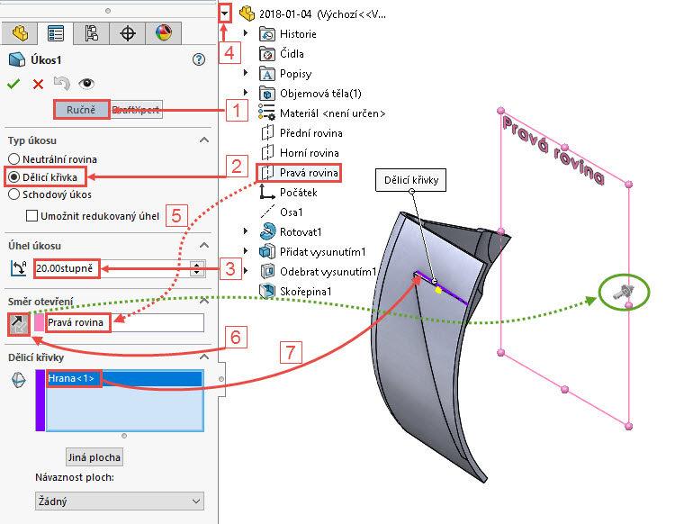 36-SolidWorks-postup-navod-modelani-vetrak-plechove-dily-lopatkove-kolo