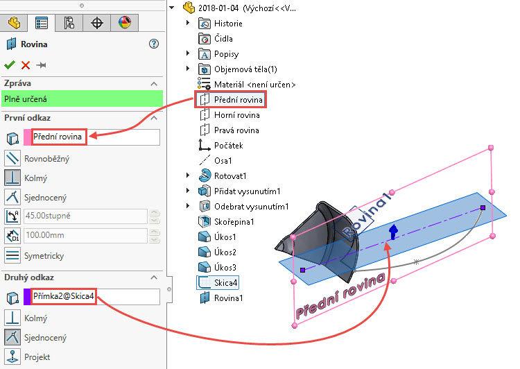 51-SolidWorks-postup-navod-modelani-vetrak-plechove-dily-lopatkove-kolo