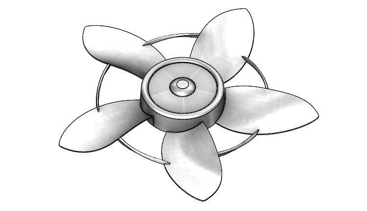 66-SolidWorks-postup-navod-modelani-vetrak-plechove-dily-lopatkove-kolo