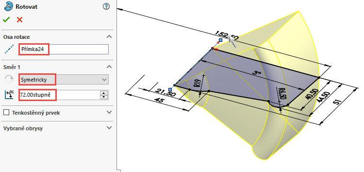 7-SolidWorks-postup-navod-modelani-vetrak-plechove-dily-lopatkove-kolo