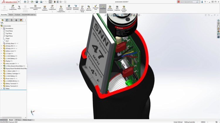 2-SOLIDWORKS-2020-vylepseni-Parallel-to-Screen-Section View-1