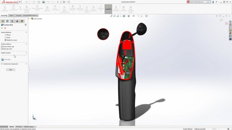 2-SOLIDWORKS-2020-vylepseni-Parallel-to-Screen-Section View-2
