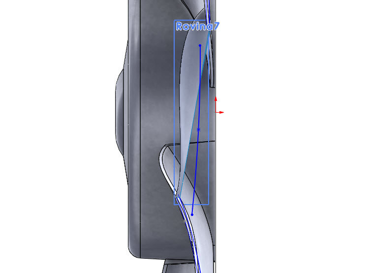 210-SolidWorks-postup-navod-modelani-vetrak-plechove-dily-lopatkove-kolo