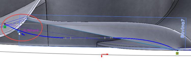 213-SolidWorks-postup-navod-modelani-vetrak-plechove-dily-lopatkove-kolo