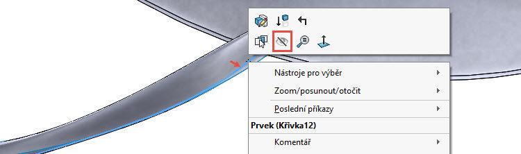222-SolidWorks-postup-navod-modelani-vetrak-plechove-dily-lopatkove-kolo