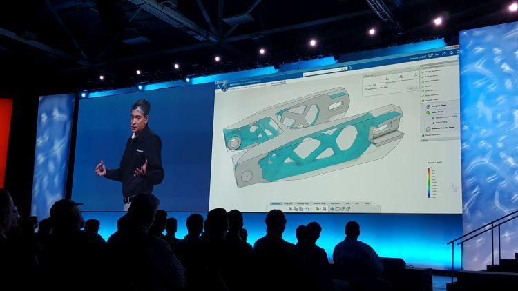 Platforma 3D Experience obsahuje výkonné nástroje pro topologickou optimalizaci, která se soblibou aplikuje pro výrobu návrhů aditivními technologiemi. Foto: Marek Pagáč