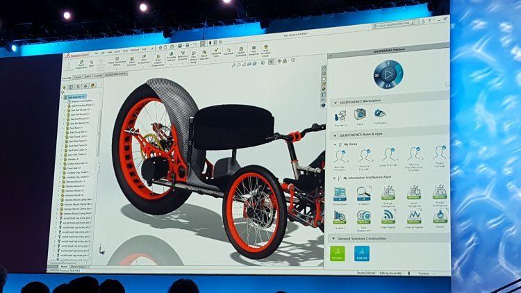 Implementace nástrojů zplatformy 3D Experience jsou zřejmé zpanelu úloh vpravé části grafické plochy SOLIDWORKSu. Foto: Marek Pagáč