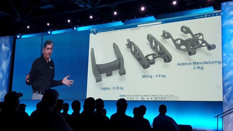 Výhody topologické optimalizace spočívají ve snižování váhy a konstrukci atraktivního designu, neboli tzv. bionické konstrukce. Výroba zpravidla probíhá 3D tiskem.