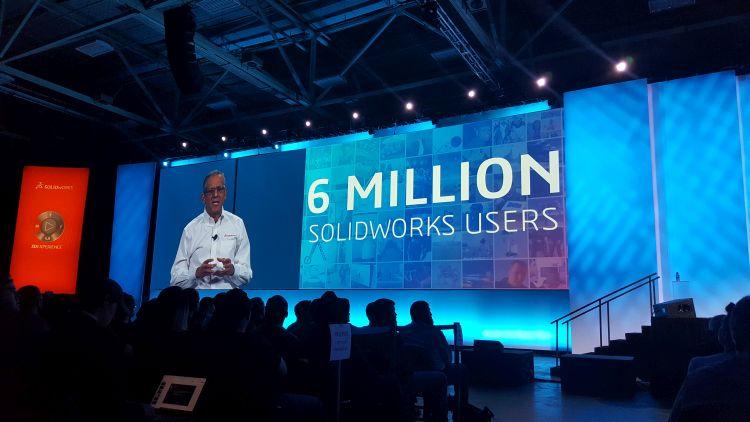 Komunita SOLIDWORKSu nadále roste. Ke dni konání konference bylo po celém světě 6 miliónů uživatelů.