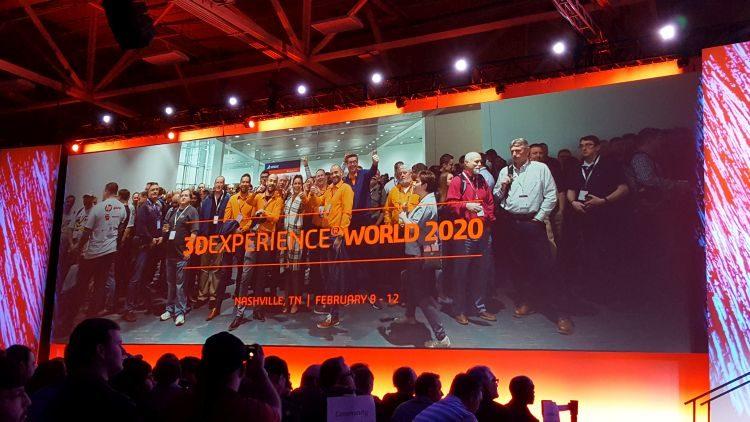Na konferenci byla představena platforma 3D Experience propojená se SOLIDWORKSem. Pokud si tento nadále dostupný desktop systém neporadí svýpočetně náročnou simulací, můžete si data jednoduše natáhnout do on-line prostředí platformy a provést ji přímo tam. Sohledem na propojení na platformu se po 20 letech mění i název konference. Příští rok se celosvětové setkání 3DEXPERIENCE World 2020 uskuteční vNashville.