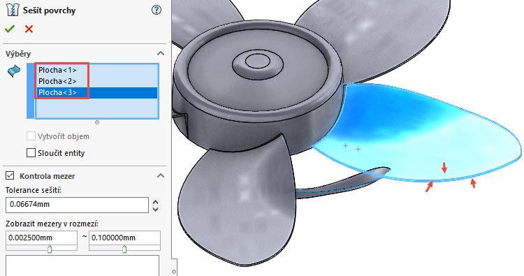 351-SolidWorks-postup-navod-modelani-vetrak-plechove-dily-lopatkove-kolo