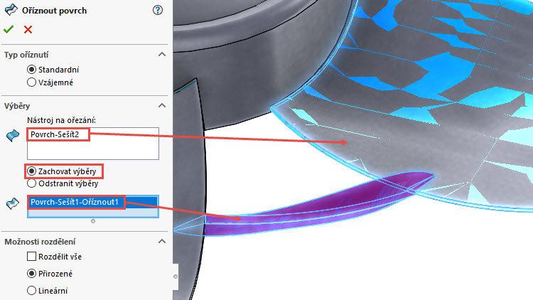 354.0-SolidWorks-postup-navod-modelani-vetrak-plechove-dily-lopatkove-kolo