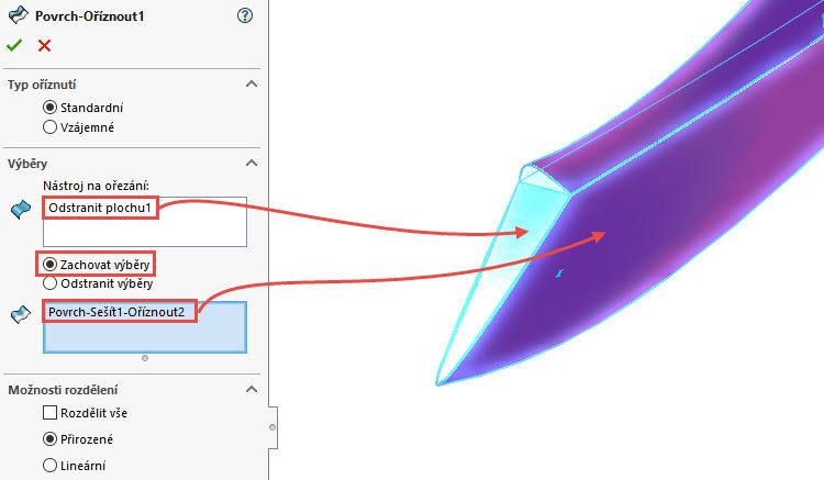 361-SolidWorks-postup-navod-modelani-vetrak-plechove-dily-lopatkove-kolo