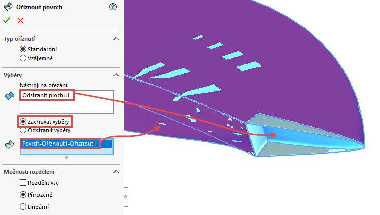 362-SolidWorks-postup-navod-modelani-vetrak-plechove-dily-lopatkove-kolo