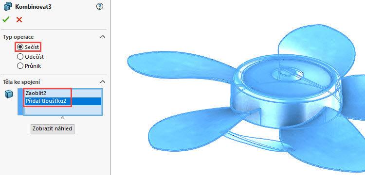 373-SolidWorks-postup-navod-modelani-vetrak-plechove-dily-lopatkove-kolo