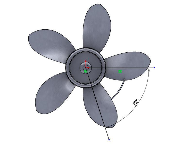375-SolidWorks-postup-navod-modelani-vetrak-plechove-dily-lopatkove-kolo