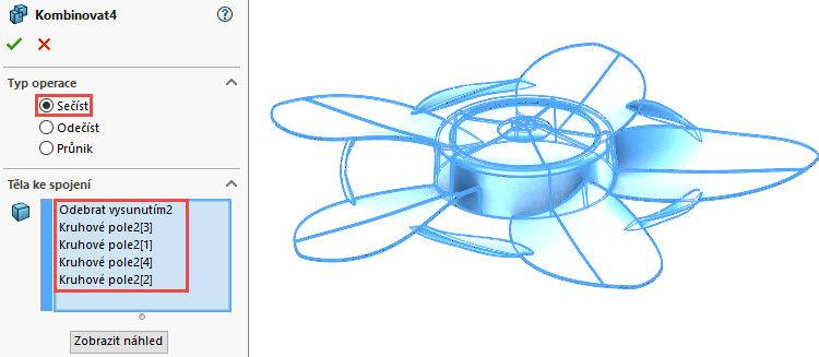 380-SolidWorks-postup-navod-modelani-vetrak-plechove-dily-lopatkove-kolo