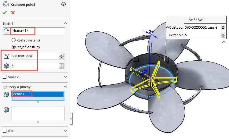 392-SolidWorks-postup-navod-modelani-vetrak-plechove-dily-lopatkove-kolo