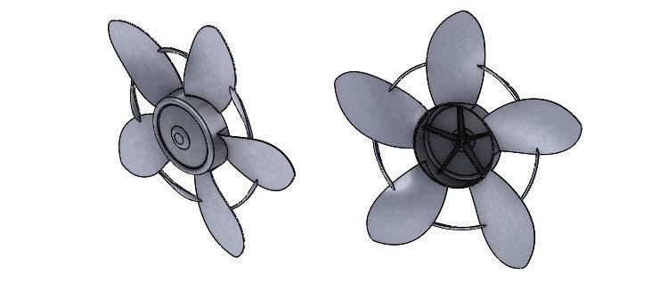 393-SolidWorks-postup-navod-modelani-vetrak-plechove-dily-lopatkove-kolo