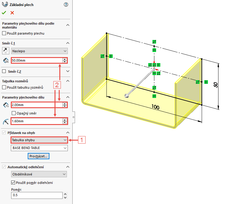 8-Mujsolidworks-SOLIDWORKS-tabulky-ohybu-postup-navod-base-bend-table-bend-allowence-gauge