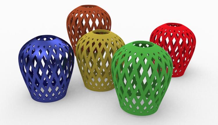 Stínítko pro výrobu 3D tiskem: Postup modelování #4