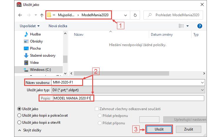 1-Mujsolidworks-ModelMania-2020-Nashville-postup-tutorial-step-by-step
