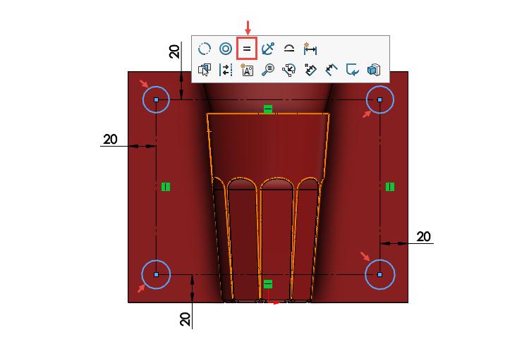 101-SOLIDWORKS-mold-forma-formovani-postup-modelovani-sklenice