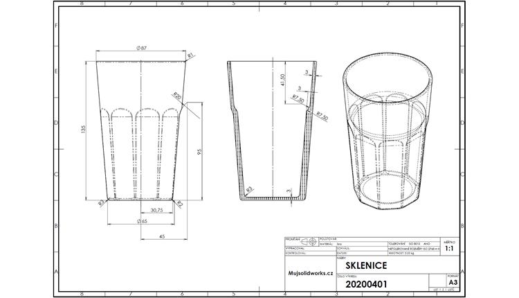 49-SOLIDWORKS-mold-forma-formovani-postup-modelovani-sklenice