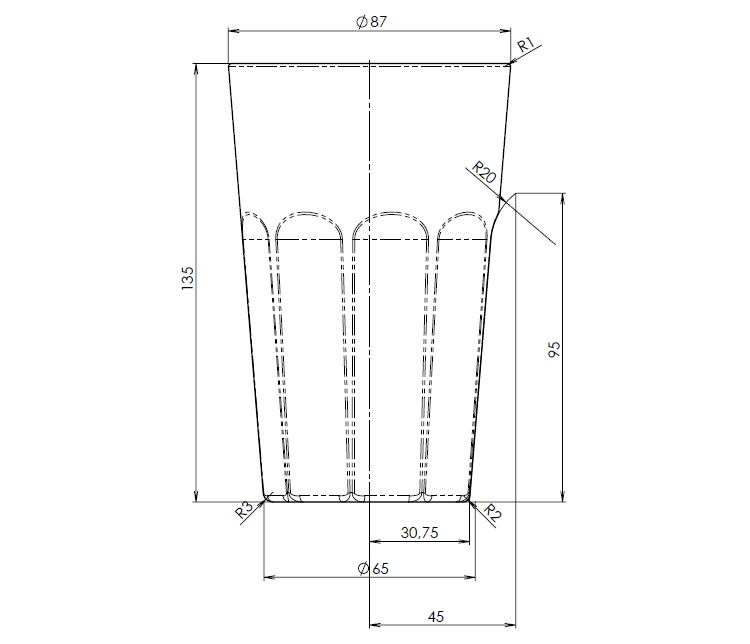 50-SOLIDWORKS-mold-forma-formovani-postup-modelovani-sklenice