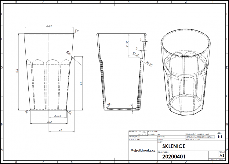 52-SOLIDWORKS-mold-forma-formovani-postup-modelovani-sklenice
