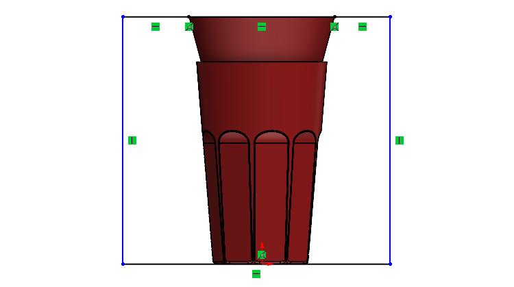 84-SOLIDWORKS-mold-forma-formovani-postup-modelovani-sklenice